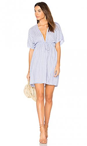 Платье capri Rails. Цвет: нежно-голубой