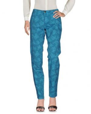 Повседневные брюки CAMOUFLAGE AR AND J.. Цвет: цвет морской волны