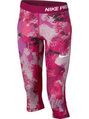 Капри G NP CPRI AOP3 Nike. Цвет: сливовый