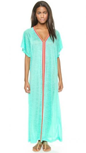 Макси-платье Abaya Pitusa. Цвет: белый