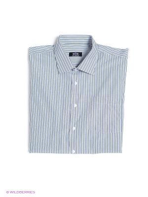 Рубашка OLSER. Цвет: серый
