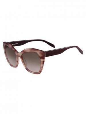 Очки солнцезащитные KL 929S 132 Karl Lagerfeld. Цвет: розовый