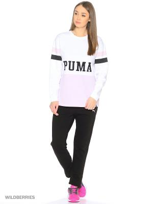 Свитшот Colour Blocking Crew Sweat Puma. Цвет: белый