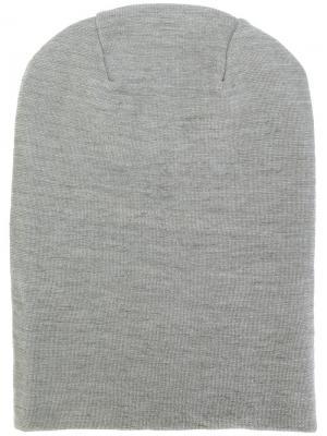 Трикотажная шапка S.N.S. Herning. Цвет: серый