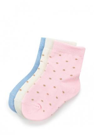 Комплект носков 3 пары Modis. Цвет: разноцветный