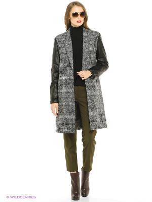 Пальто Trussardi. Цвет: серый