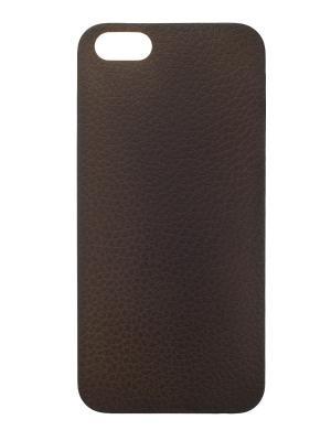 Чехол крышка задняя для iphone 5 сверхтонкая IQ Format. Цвет: черный