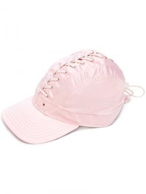 Кепка со шнуровкой Fenty X Puma. Цвет: розовый и фиолетовый