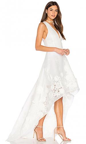 Платье capri Bronx and Banco. Цвет: белый