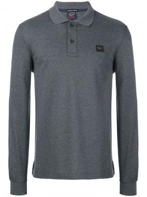 Classic polo shirt Paul & Shark. Цвет: синий