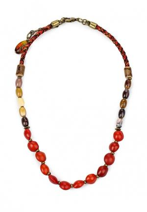 Колье Nature bijoux. Цвет: красный