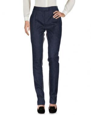 Повседневные брюки DIOR. Цвет: синий