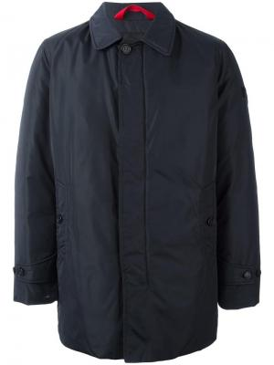 Куртка на молнии Peuterey. Цвет: синий