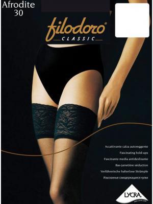 Чулки Filodoro Classic. Цвет: черный