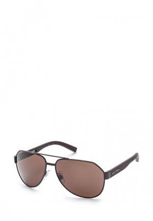Очки солнцезащитные Dolce&Gabbana. Цвет: коралловый