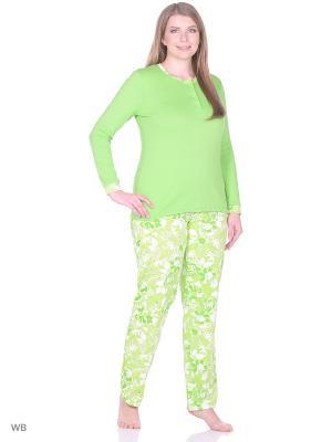 Пижама Vilana. Цвет: зеленый