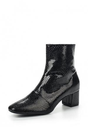 Ботинки Pieces. Цвет: черный