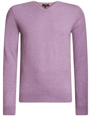 Пуловер Oodji. Цвет: сиреневый