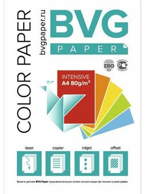 Цветная Бумага BVG 100 Интенсив.Голубая ИД ЛИТЕРА. Цвет: голубой