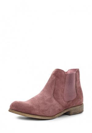 Ботинки s.Oliver. Цвет: розовый