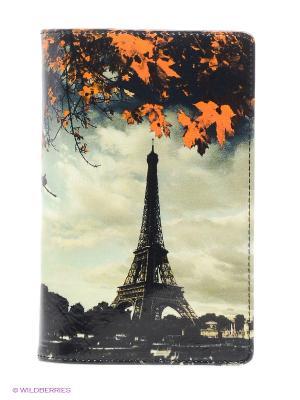 Обложка для документов Flioraj. Цвет: бежевый, оранжевый, черный