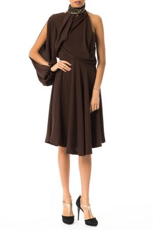 Платье Byblos. Цвет: brown