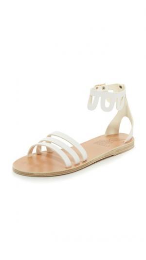 Сандалии Omorfi Ancient Greek Sandals. Цвет: белый