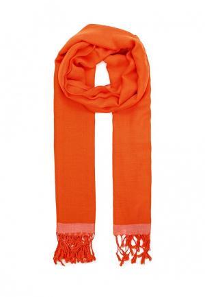 Палантин Fete. Цвет: оранжевый