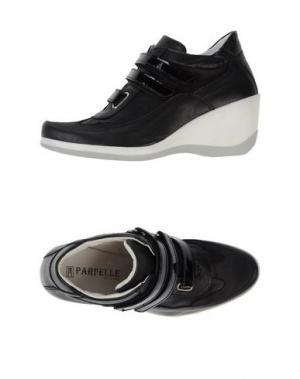 Низкие кеды и кроссовки PARPELLE. Цвет: черный