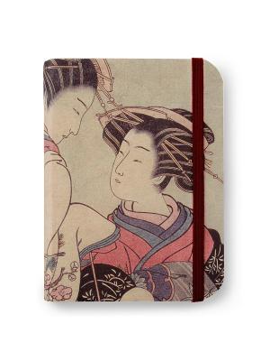 Флорентийская записная книжка. Коору из чайного дома Синканая Власта. Цвет: бежевый, розовый, серый