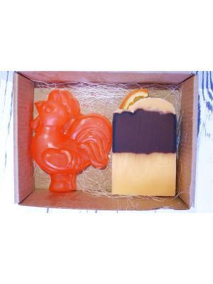 Петушок и апельсин корица Entourage. Цвет: коричневый, оранжевый