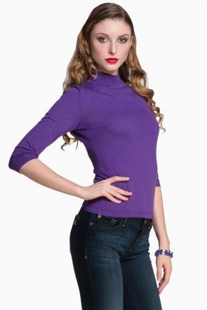 Кашемировый джемпер 129287 Iya Yots. Цвет: фиолетовый