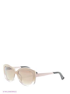 Солнцезащитные очки CHRISTIAN DIOR. Цвет: бежевый, светло-бежевый