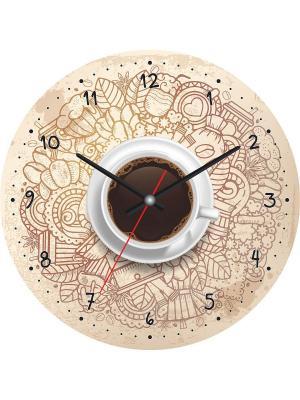 Часы настенные CL-11 Postermarket. Цвет: молочный