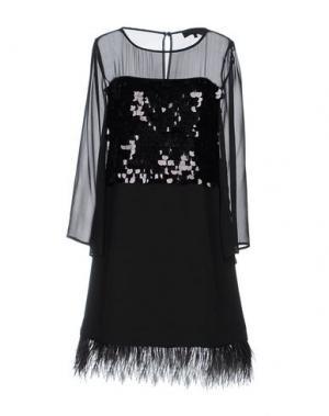 Короткое платье ANNA RACHELE BLACK LABEL. Цвет: черный