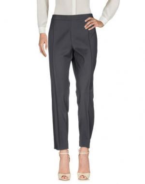 Повседневные брюки ANNA RACHELE JEANS COLLECTION. Цвет: стальной серый