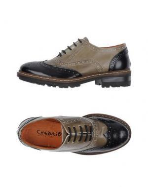 Обувь на шнурках CREATIVE. Цвет: хаки