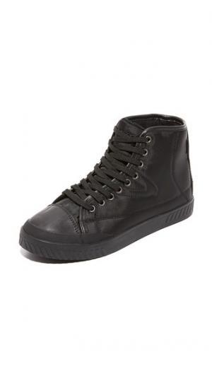 Кроссовки с высоким берцем Baily4 Tretorn. Цвет: черный/черный/черный