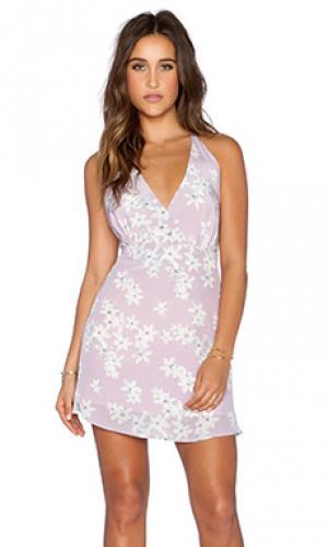 Платье lily Myne. Цвет: бледно-лиловый