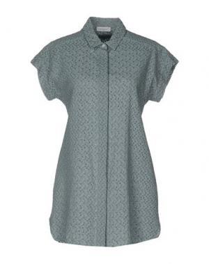 Pубашка ZANETTI 1965. Цвет: серый
