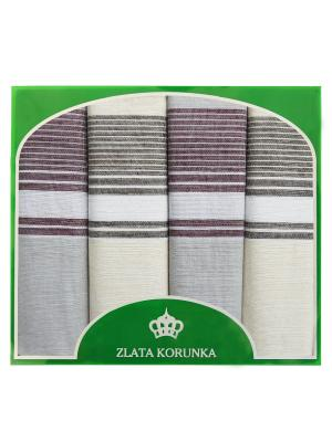 Платок носовой ZLATA KORUNKA. Цвет: голубой