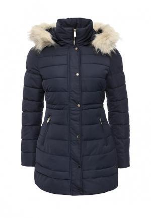 Куртка утепленная B.Style. Цвет: синий