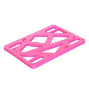 Подкладки для скейтборда  Riser Hot Pink Krooked. Цвет: розовый