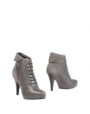 Полусапоги и высокие ботинки DEIMILLE. Цвет: свинцово-серый