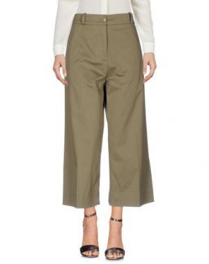 Повседневные брюки GARAGE NOUVEAU. Цвет: зеленый-милитари