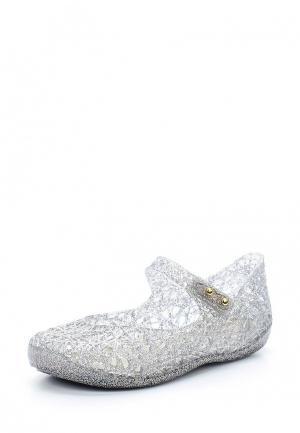 Туфли Melissa. Цвет: серебряный