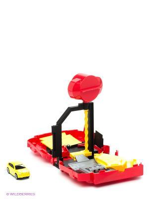 Набор-трансформер Автомойка Пламенный мотор. Цвет: красный