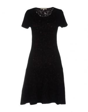 Короткое платье GERARD DAREL. Цвет: красно-коричневый