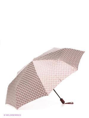 Зонт Doppler. Цвет: бордовый, золотистый, белый