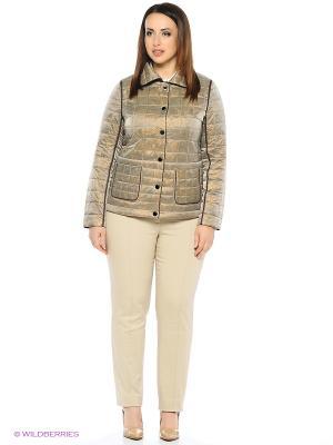 Куртка FREYA. Цвет: коричневый